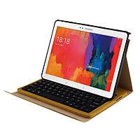 Чехол клавиатура Bluetooth для планшета Samsung Tab Pro 10.1 T520 T525 Note 10.1 P600 коричневый