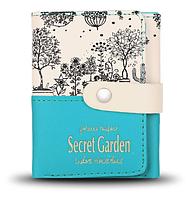 Кошелек Secret Garden бирюзовый