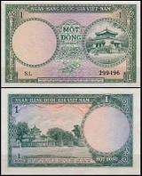 Вьетнам Южный / Vietnam South 1 Dong 1955 Pick 1 UNC