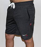 Мужские трикотажные шорты Nike серые Польша 6