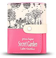 Кошелек Secret Garden насыщенно-малиновый