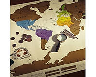 Scratch map настенная карта мира