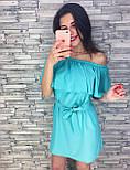 Женское нарядное платье с рюшами (3 цвета), фото 2