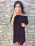 Женское нарядное платье с рюшами (3 цвета), фото 5