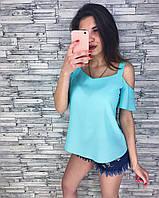 Женская стильная шифоновая блузочка (кофточка) (3 цвета), фото 1