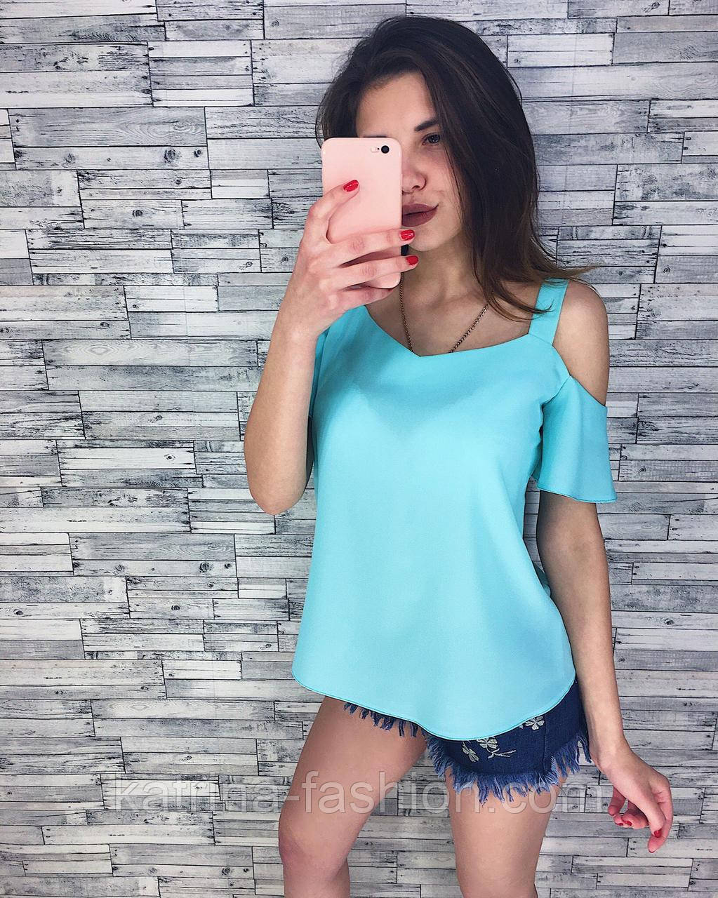 Женская стильная шифоновая блузочка (кофточка) (3 цвета)