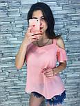 Женская стильная шифоновая блузочка (кофточка) (3 цвета), фото 3
