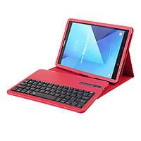 Чехол клавиатура Bluetooth для планшета Samsung GalaxyTab S3 9.7 T820  красный