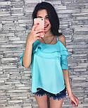 Женская модная блуза из шифона (3 цвета), фото 2