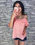 Женская модная блуза из шифона (3 цвета), фото 4