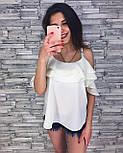 Женская модная блуза из шифона (3 цвета), фото 6