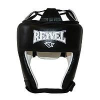 Шлем боксерский REYVEL кожа + винил (1)