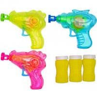 """Пистолет для мыльных пузырей 668-9А """"Пистолет""""со светом"""