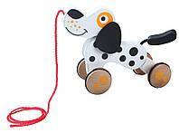 Деревянная собачка на шнурочке Ecotoys 2205