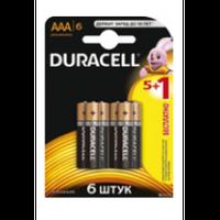 Елемент живлення (батарейка) DURACELL LR6 (AA), 6штупак