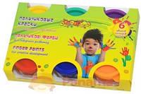 Пальчиковые краски для творческого развития, 6 цветов