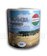 Шнур Agrotex Farmer 600 полипропиленовый  (белый)