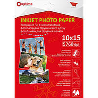 Фотопапір Optima 10х15см, 130 г/м2, 20 арк., глянцевий