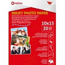 Фотопапір Optima 10х15см, 180 г/м2, 20 арк., матовий