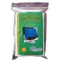 Серветки для екранів та оптики, вологі, 100 шт. запасний блок