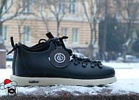 Зимние кроссовки Native Shoes Fitzsimmons черные термопрокладка