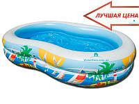 """Детский бассейн """"На пляже"""" Intex 56490 262x160x46"""