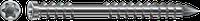 Шуруп A2 для терас, T-STAR plus,нержавіюча сталь, оцинкований, срібний
