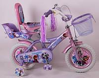 Велосипед детский 12дюймов (16,20д)  ICE FROZEN