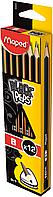 Олівець графітовий BLACK PEPS B, без ластика, коробка з підвісом