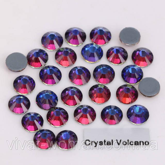 Стрази А+ Преміум, Crystal Volcano SS16 (4,0 мм) термоклеевие. Ціна за 144 шт.