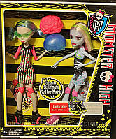 Куклы Monster High Skultimate Roller Maze Abbey Bominable & Ghoulia Yelps Эбби Боминейбл и Гулия Йелпс, фото 1