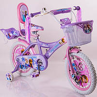 Велосипед детский 16дюймов (12,20д)  ICE FROZEN