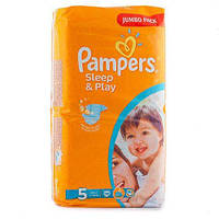 PAMPERS Подгузники Sleep Play Junior(11-18кг)58