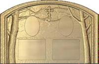 Форма для изготовления памятников №319