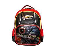 Школьный  рюкзак с ортопедической спинкой Crazy Car