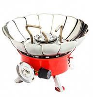 Плита газовая Vita портативная с лепестками от ветра (малая) GP-0003