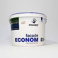 Колорит Facade Econom краска фасадная (10л)