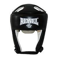Шлем боксерский REYVEL кожа + винил (2)