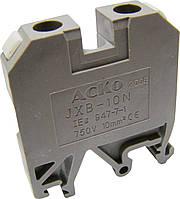 Клеммник JXB-10/35 зелений (АСКО)