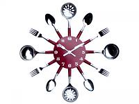 Часы настенные Столовые Приборы 37*37*4.5 см SNT 01-055