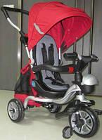 Детский Трехколесный велосипед AC-3 (аналог Puky Cat S6) с каучуковыми колесами, красный ***