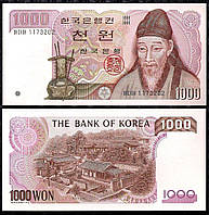 Корея Южная / Korea South 1000 won 1983 Pick 47 UNC