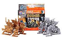 Игрушка Набор средневековых воинов солдатиков ТехноК (4272)