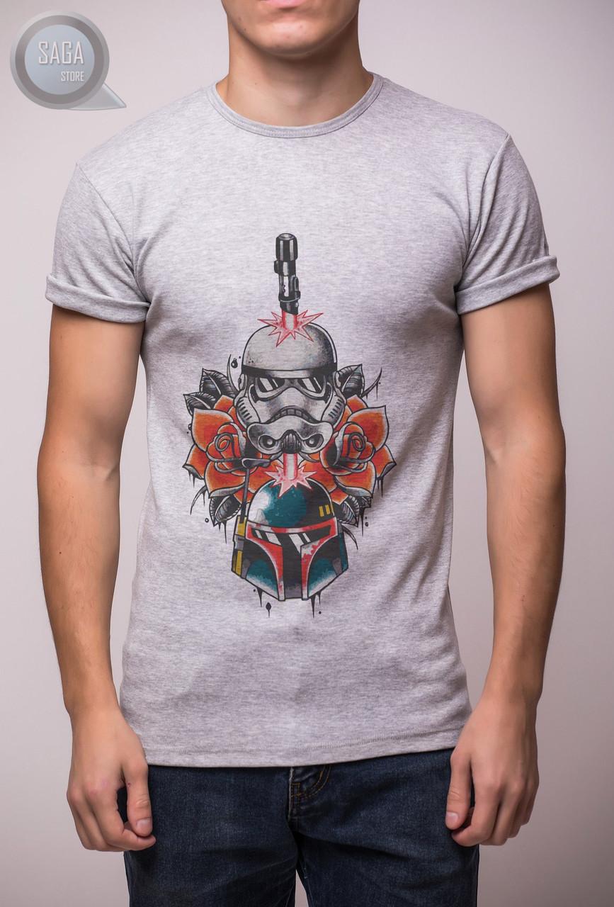3c65b6f694219 Мужская футболка Morning.Star - Grey Print 24: заказ, цены в Украине ...