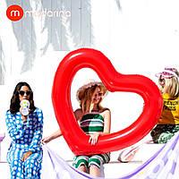 Modarina круг в форме сердца Red heart 120 см, фото 1
