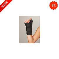 Шина для фиксации запястного сустава и большого пальца на подвязках из тесьмы Неасо REF-604(правая)