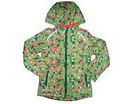 Куртка для девочки на флисовой подкладке, размеры 110/116,  Crivit, арт. 275531