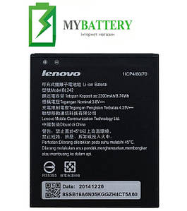 Оригинальный аккумулятор АКБ батарея Lenovo BL242 A3580 A3690 A3860 A3900 A3900D A6000 A6000 Plus A6010 A6010