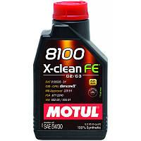Моторное масло Motul 8100 X-CLEAN FE 5W-30
