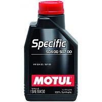 Моторное масло Motul SPECIFIC 504.00/507.00 5W-30